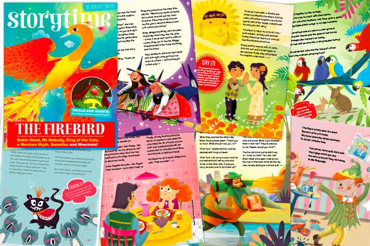 Sneak a peek inside our latest issue –Storytime Issue 38! Stories, poems, puzzles and more! Subscribe here: http://www.storytimemagazine.com/subscribe