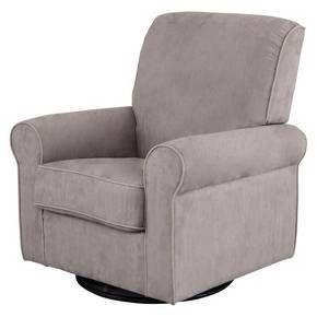 Delta Children Rowen Nursery Glider Swivel Rocker Chair - Dove Gray : Target