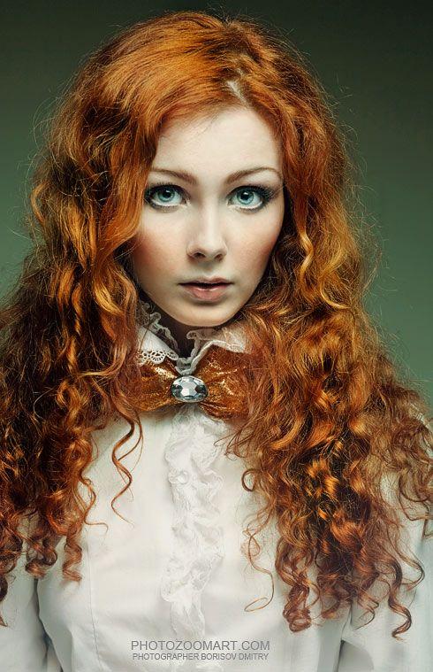 Красивые рыжие девушки. Подборка из 109 фото.