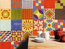 Wandtegel Stickers Decoratie Mexicaanse Talavera