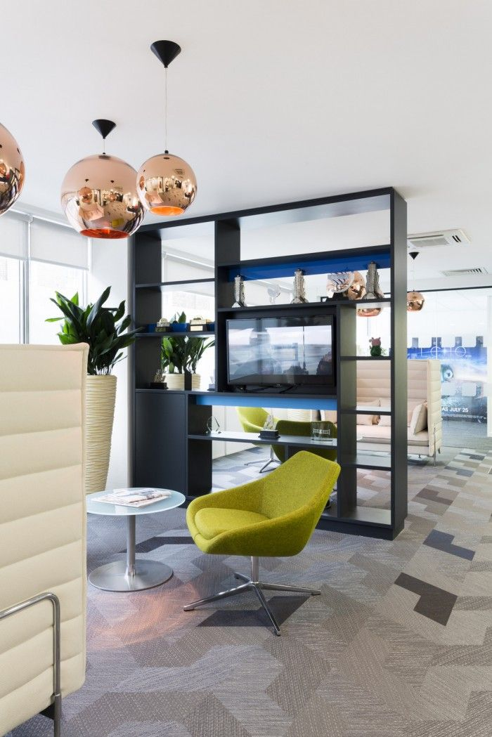 Allermuir Open Lounge Chair One London Offices