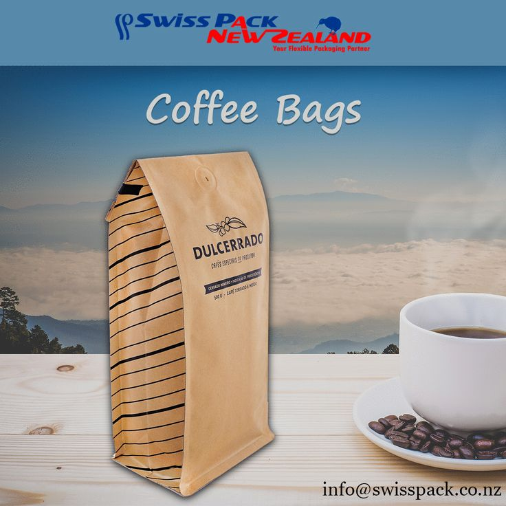Our excellent #CoffeeBags is able to remove the excess air after #packaging coffee, which retains the #quality of the #coffee extending the shelf-life. More Information Visit at http://www.swisspack.co.nz/coffee-bags/