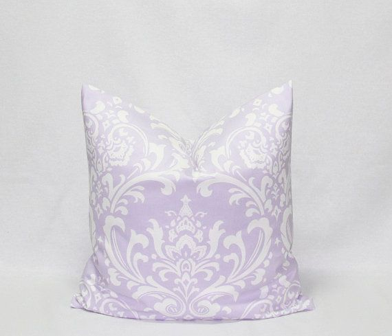 Purple Pillows Lilac pillows Lavender Pillows by HomeDecorPillows