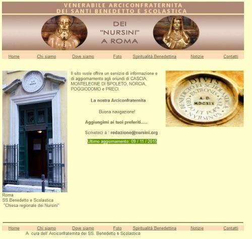 Inaugurato il nuovo sito dell'Arciconfraternita dei SS Benedetto e Scolastica