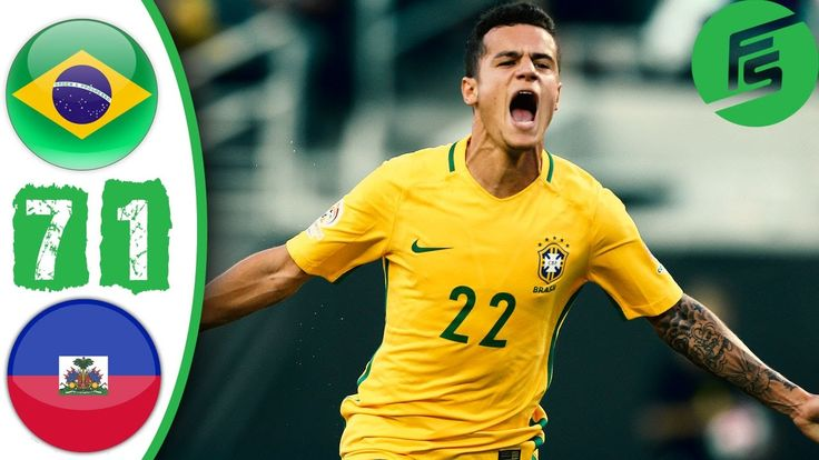 Brazil vs Haiti 7-1 Highlights & All Goals - Copa America 2016