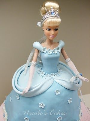 GLINDA, DOROTHY & WITCH CAKES Confections, Cakes & Creations!: Princess Cinderella Birthday Cake