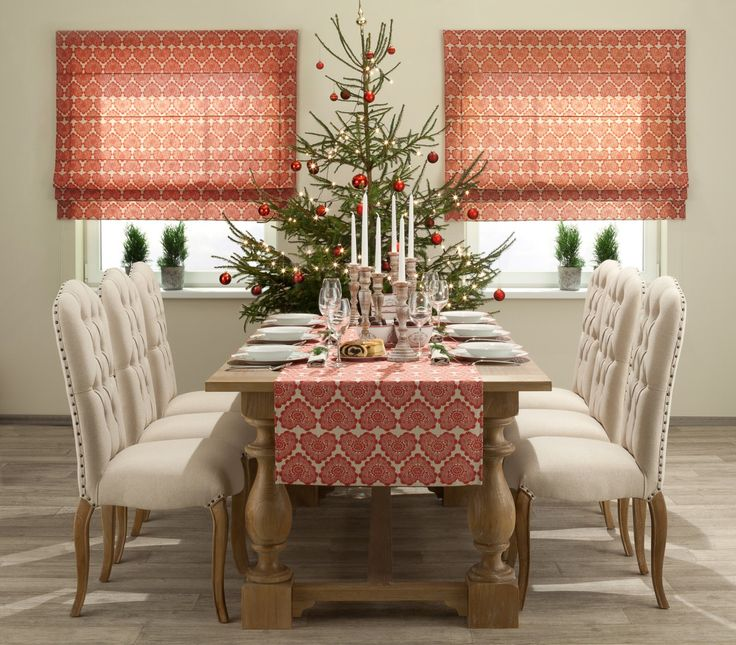 Roleta rzymska http://www.dekoria.pl/offer/fabrics_collection/62/Kolekcja-Christmas