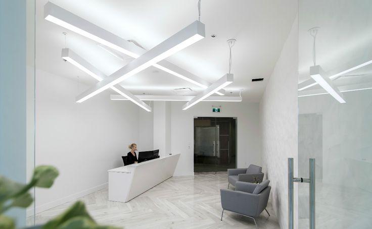 Reception area by Jonathan Morgan & Company