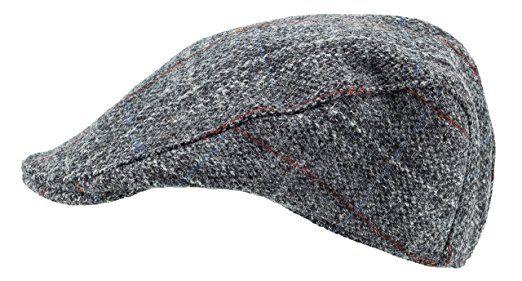 a2a95946 Harris Tweed.Made in Scotland.The Highlander 'Brad Pitt' Style Flat ...