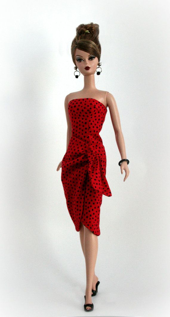 Vintage Sarong Style Dress for Silkstone by ChicBarbieDesigns, $25.99