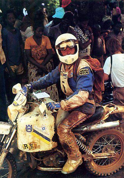 Gilles Desheulles - Paris Dakar 1984