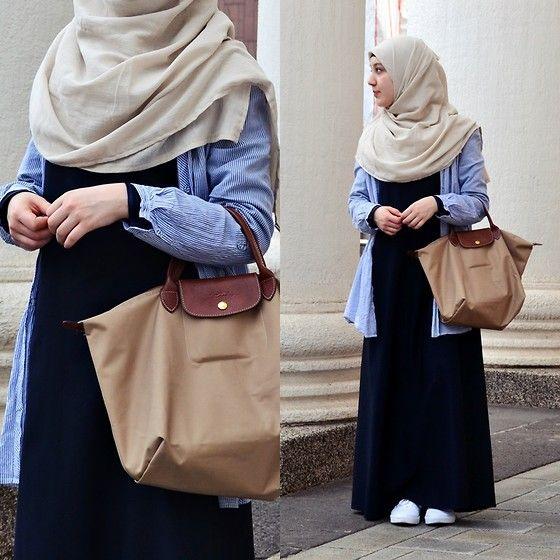 Vans Shoes, Longchamp Bag, Diy Hijab, No Name Abaya