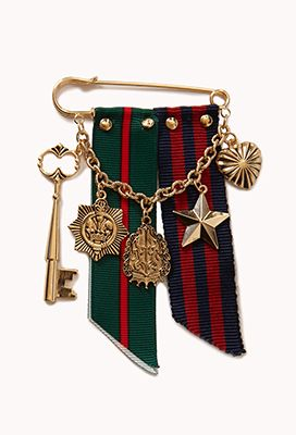 Forever 21 / Military-Inspired Pin / $5.80