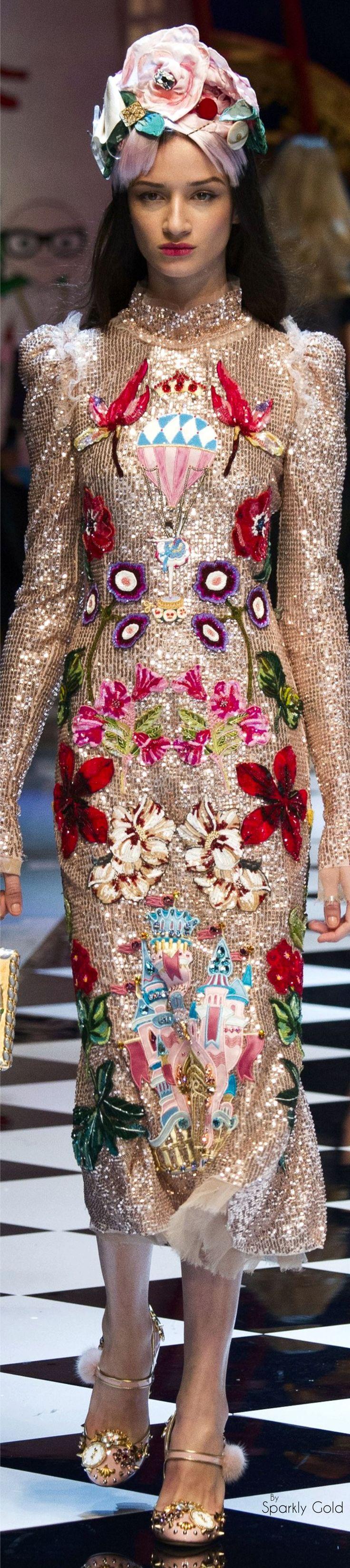 Dolce & Gabbana Fall 2016 RTW