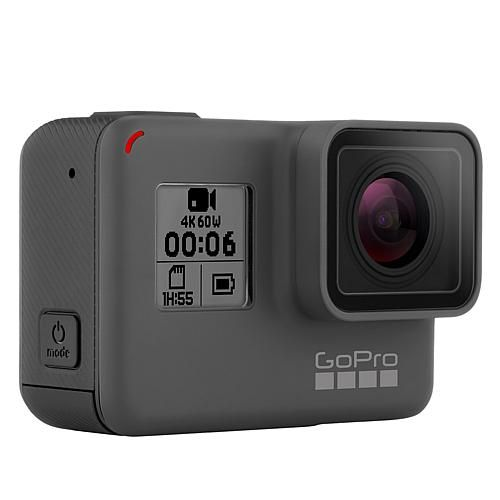 GoPro HERO6 Black 4K Ultra HD 12MP Waterproof Action Camera with LCD, Voice Control and Underwater Case