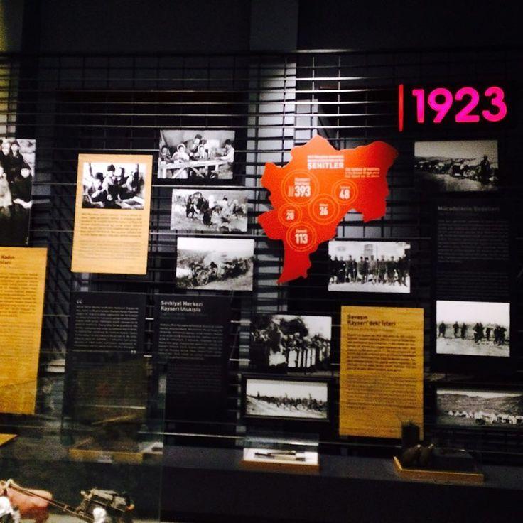 Milli Mücadele Müzesi-Kayseri  #milli #mücadele #müzesi #Kayseri #Lisesi #Savaş #Tarih #Mustafa #Kemal #Atatürk #1923 #Kurtuluş