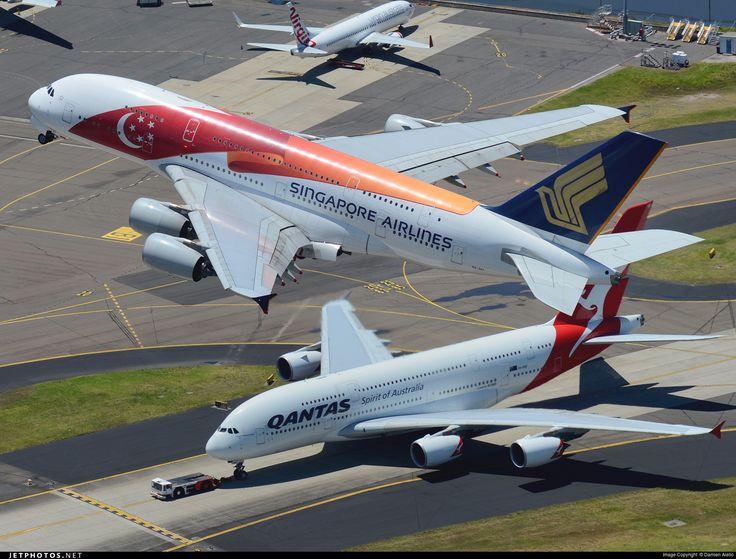 Photo of 9V-SKI Airbus A380-841 by Damien Aiello