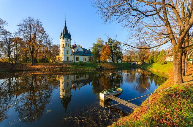 Pałace w Polsce - Olszanica