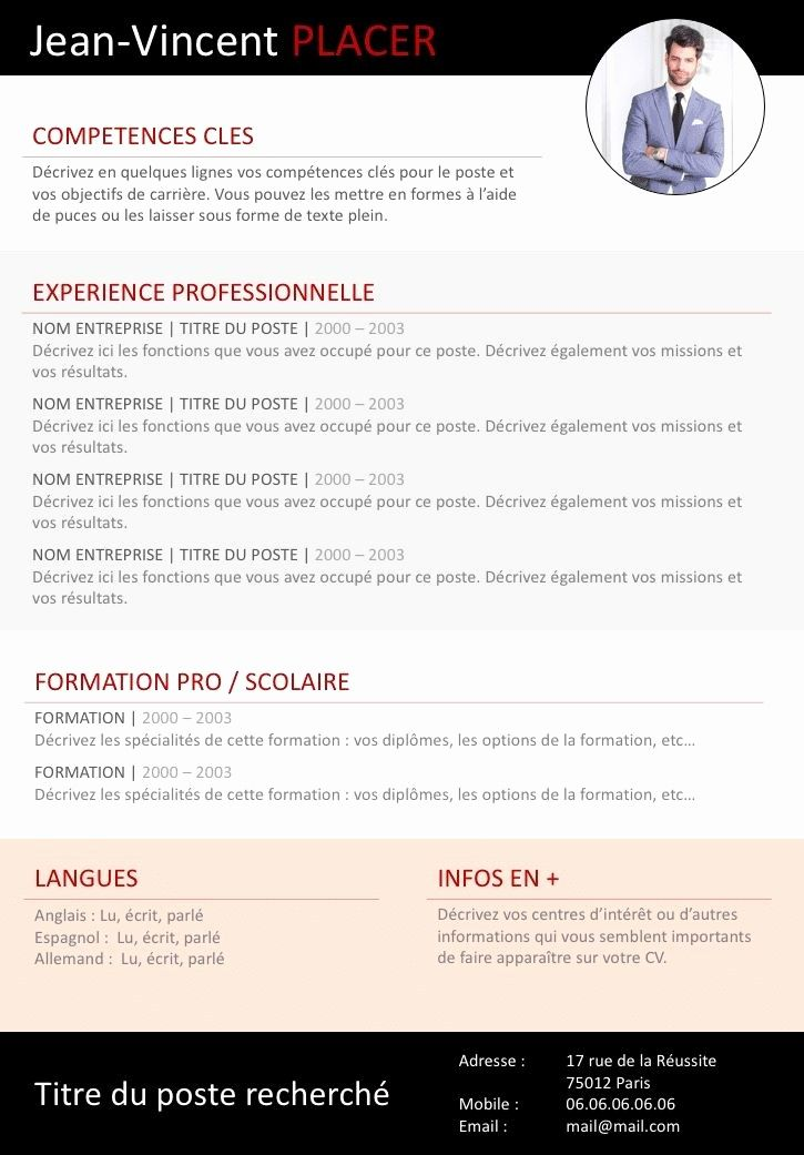 79 Of Gracieux Store Chambre Types Of Resumes Resume Words Functional Resume