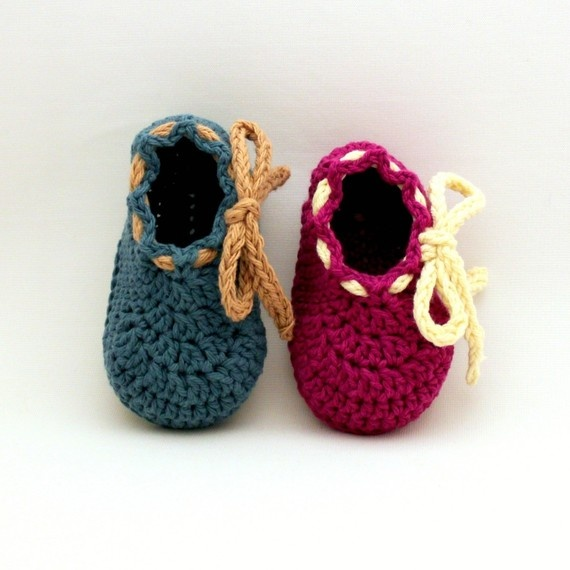 Bodie Baby Booties - PDF Crochet Pattern (Sizes Newborn to 18mo.)
