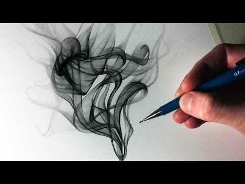 How to Draw Smoke - YouTube