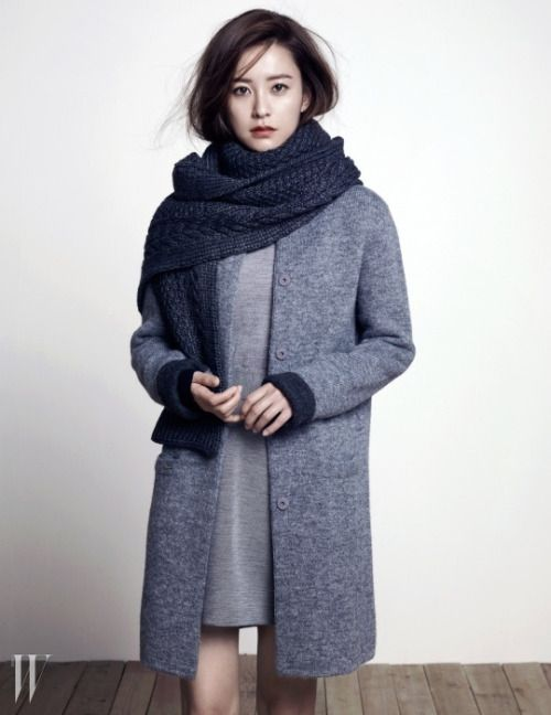 Jung Yu Mi W Korea Magazine November 2014 Issue