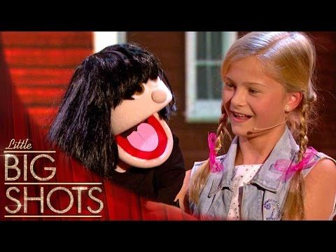 Darci Lynne: 12-Year-Old Singing Ventriloquist Gets Golden Buzzer - America's Got Talent 2017 - YouTube