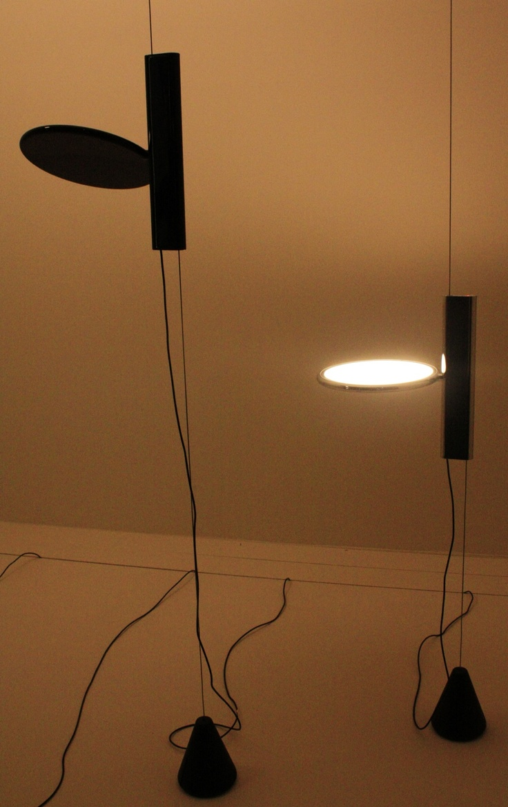 Epic Konstantin Grcic embraces flat at Flos with his OK lamp