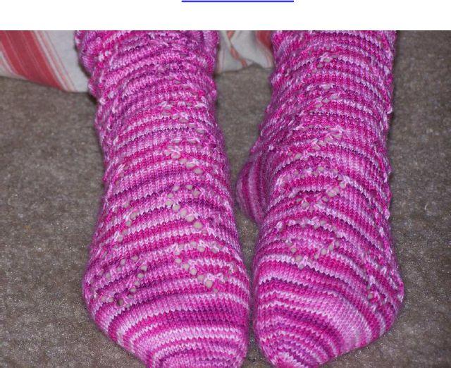 Free Knitting Patterns Nz : Valentine Lace Sock free knitting pattern Knit Other Holidays Pinterest ...