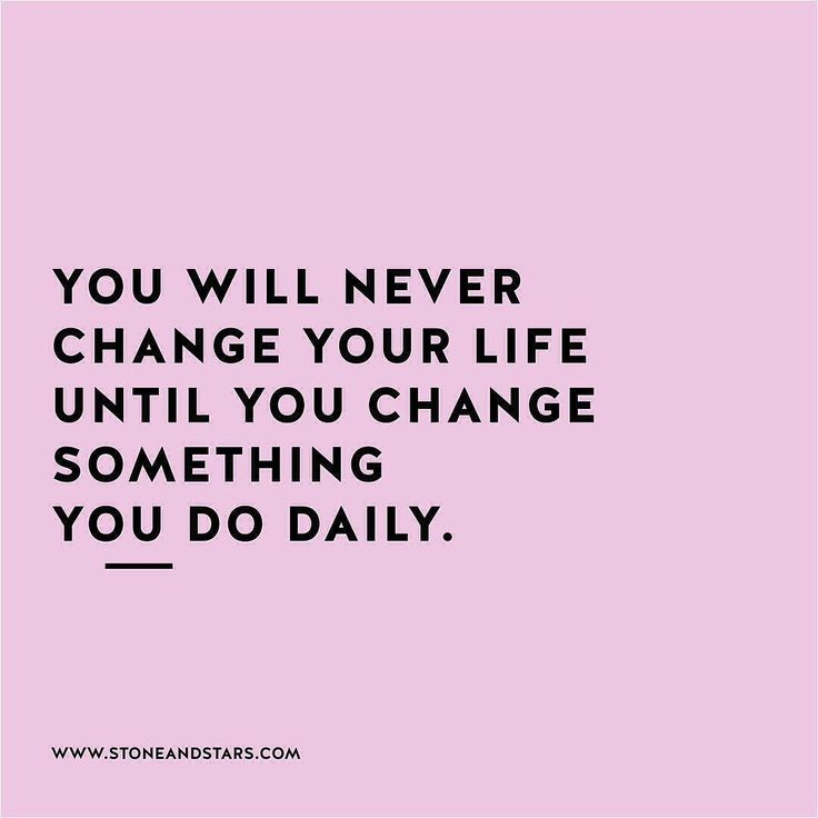 #morningthoughts #quote  You will never change your life until you change something you do daily