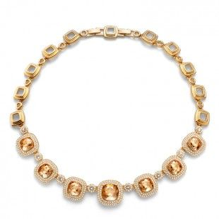 Collier Autentic gold golden shadow #OliverWeber