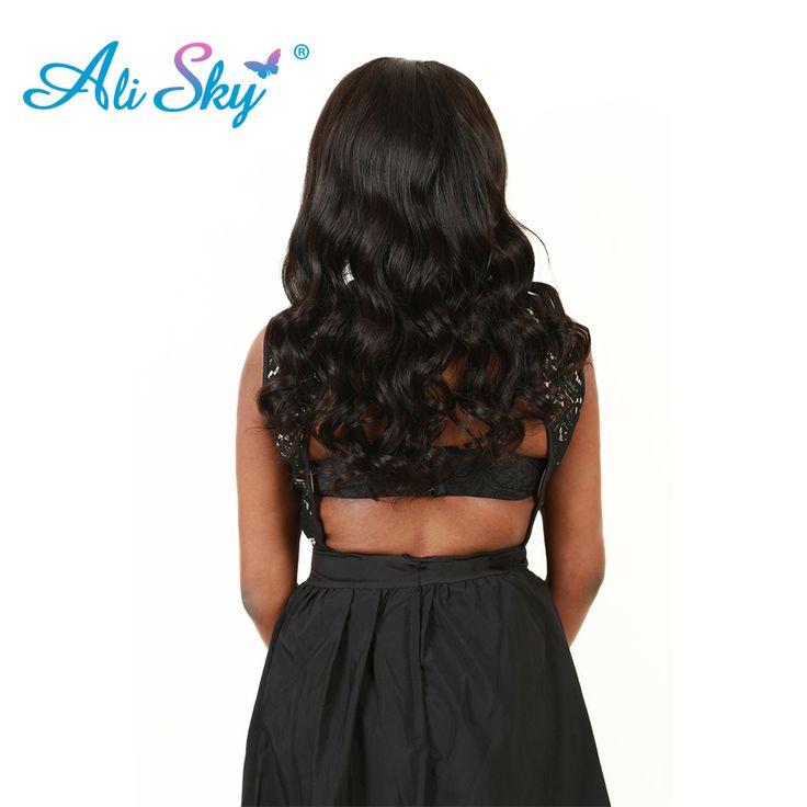 "Ali Sky Company Brazilian Body Wave Hair Weave Bundles 1pc Remy Hair 100% Human Hair Bundles 8""-26"" Natural Color Free Shipping"