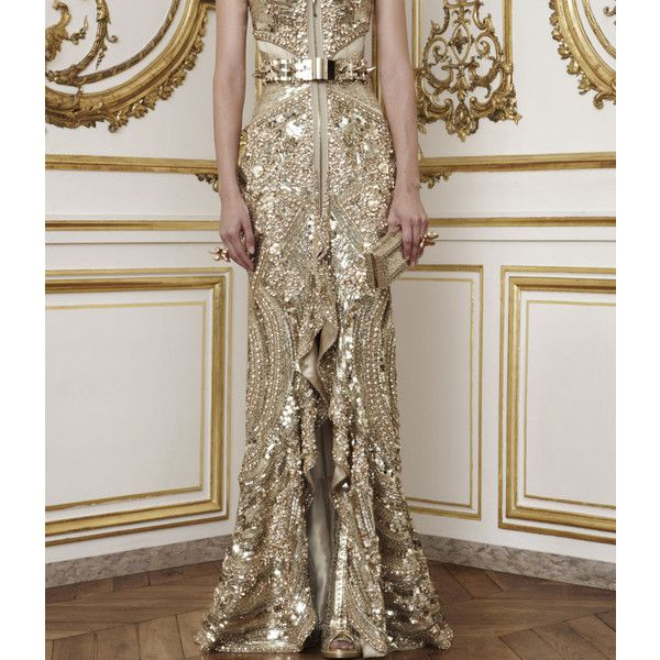 I Dream of a World of Couture ❤ liked on Polyvore featuring pictures, gown, dresses and photos