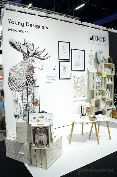 Mooncake Design at Formex Fair 2015 in Stockholm, Sweden. | qandvictoria.wordpress.com