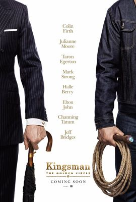 Kingsman: The Golden Circle Review   Rating:  7.0 out of 10  Cast:  Colin Firth as Harry Hart Julianne Moore as Poppy Taron Egerton as Eggsy Mark Strong as Merlin Edward Holcroft as Charlie Halle Berry as Ginger Elton John as Elton John Channing Tatum as Tequila Jeff Bridges as Champ Pedro Pascal as Whiskey Hanna Alström as Princess Tilde Calvin Demba as Brandon Thomas Turgoose as Liam Tobi Bakare as Jamal Keith Allen as Charles Tom Benedict Knight as Angel Michael Gambon as Arthur Sophie…
