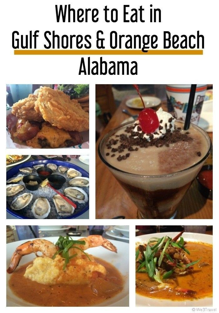Where To Eat In Orange Beach And Gulf Shores Alabama