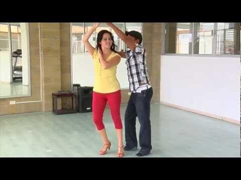 Aprende a bailar salsa 4 - YouTube