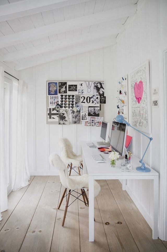 The beautiful relaxed home of Anne Ziegler - for summer house office