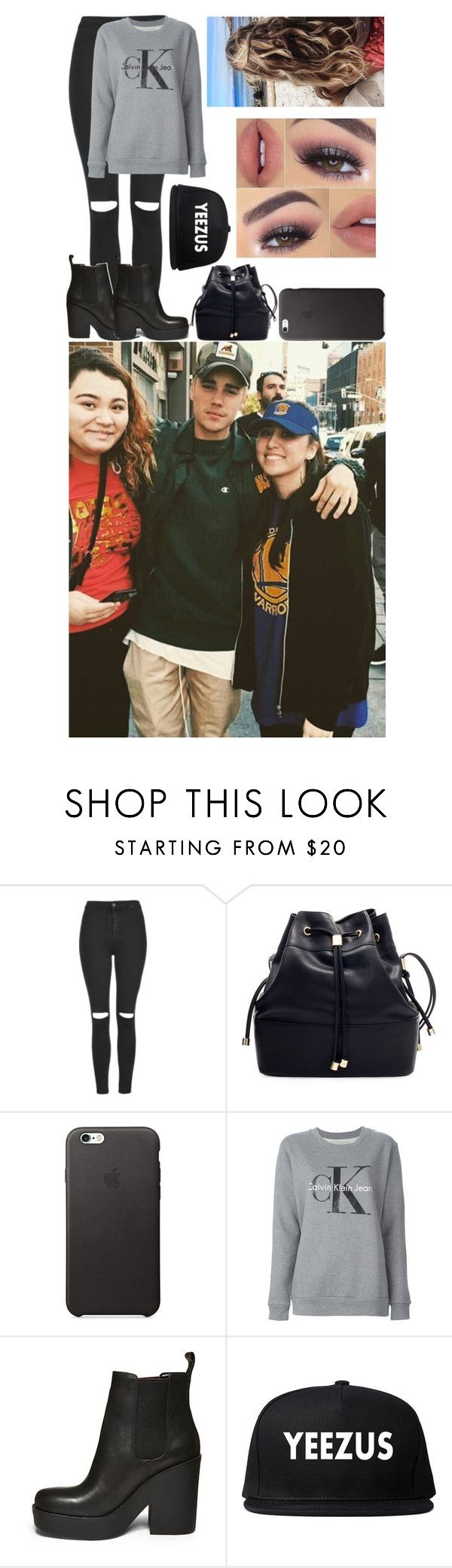 """""""Meeting Fans With Boyfriend Justin"""" by glitterbelle11 ❤ liked on Polyvore featuring Topshop, Zara, Calvin Klein Jeans and Steve Madden"""