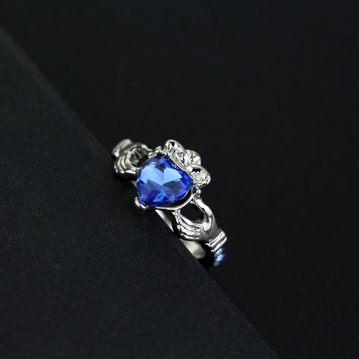 Harry potter ravenclaw logo rings ravenclaw blue rings cosplay rings1