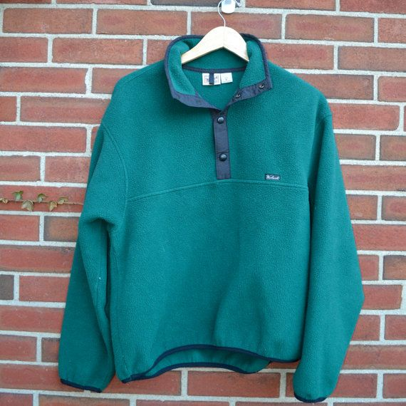 Cheap Patagonia Pullover 4 Snap Polartec Fleece on Etsy, $19.90