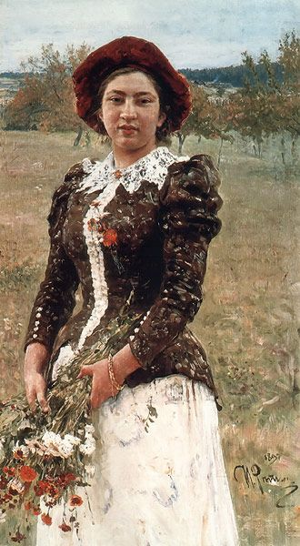 Ilya Repin - Autumn Bouquet