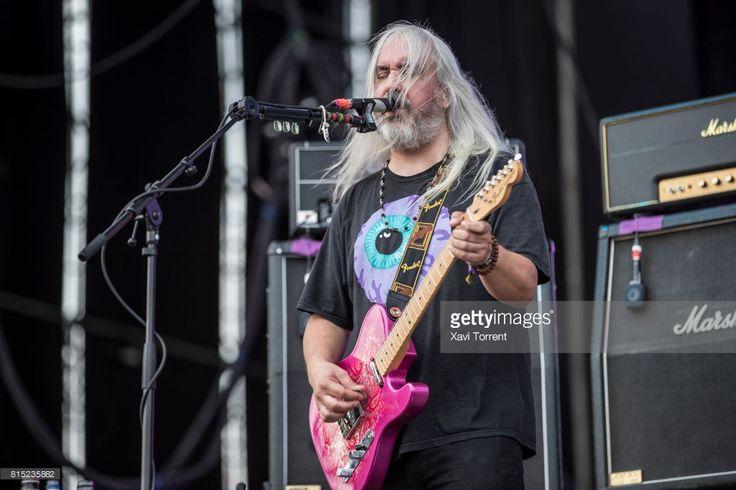 J Mascis of Dinosaur Jr performs in concert during day 3 of Festival Internacional de Benicassim (FIB) on July 15, 2017 in Benicassim, Spain.