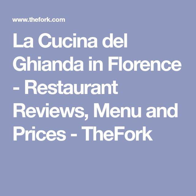 La Cucina del Ghianda in Florence - Restaurant Reviews, Menu and Prices - TheFork