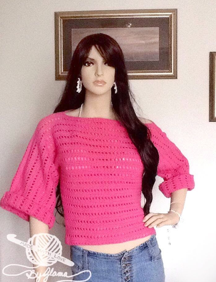 """Crochet Sweater  """"How To Crochet A Super Super Easy Sweater"""" For Beginners"""
