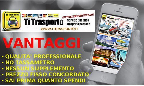 TI TRASPORTO ( L'alternativa al TAXI ) - NCC LOW COST - Per privati e aziende in CONEGLIANO PORDENONE VITTORIO VENETO ODERZO BELLUNO SACILE AVIANO