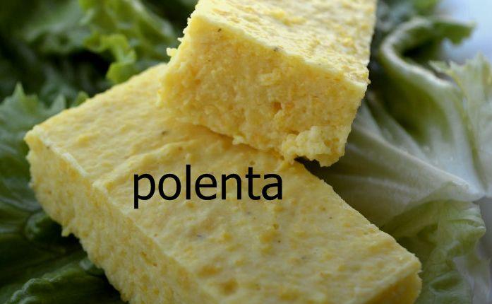 Avrupa'da et ve balık yemeklerinin yanında meze olarak tüketilen polenta mısır irmiği ile yapılan bir aperatif. Polentanın lezzeti tereyağı ve peynirle zenginleştiriliyor.