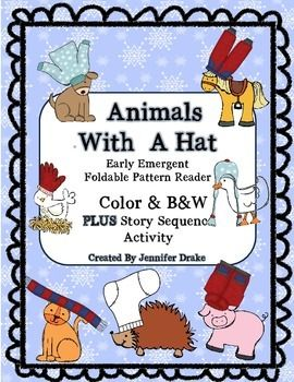 Are you reading 'The Hat' by Jan Brett this winter?Looking to have your students retell the story, work on story sequence/recalling details and read a book based on 'The Hat?'Look 'SNOW' further! Here it is!I made this foldable reader so that my kindergarten students could also read 'The Hat' and could practice retelling a story and work on recalling story elements & details!