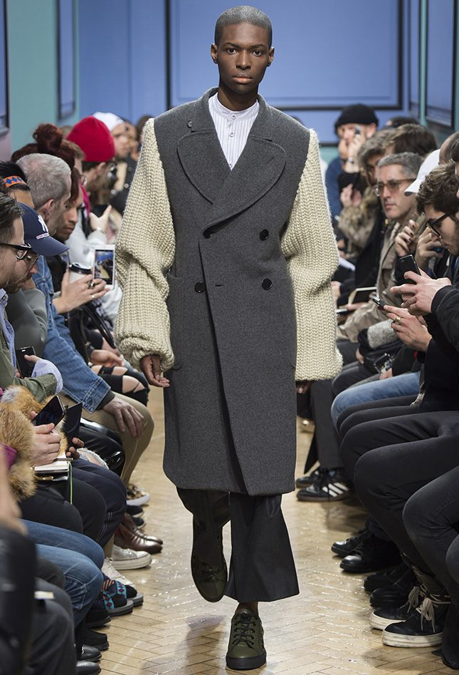 С его плеча: лучшие пальто Недели мужской моды в Лондоне