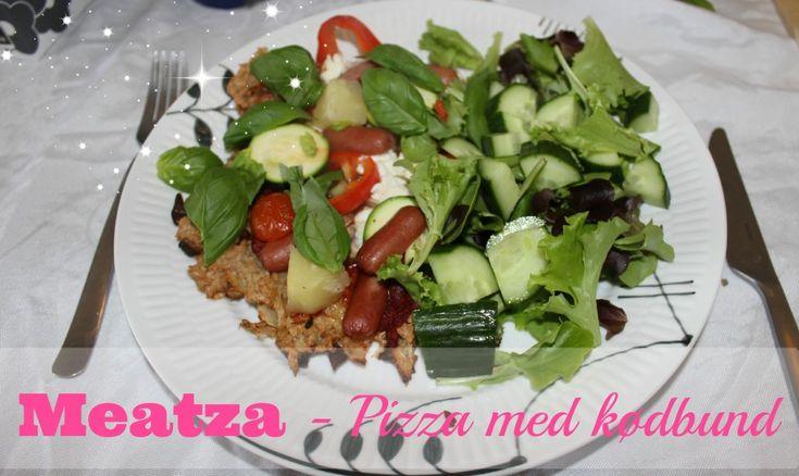 Mayadroem ~Meatza med kylling (Pizza med kødbund)